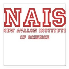 New Avalon Institute of Science Square Car Magnet