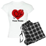 Personalized Nurse Heart Pijamas