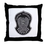 TJ PD Counter Terrorist Throw Pillow