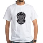 TJ PD Counter Terrorist White T-Shirt