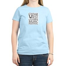 Cedar Valley Chamber Music Women's Pink T-Shirt