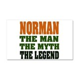 NORMAN.png Car Magnet 20 x 12