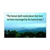 Pure Nature ~ Rectangle Car Magnet