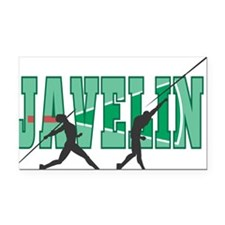 32543250javelin.png Rectangle Car Magnet