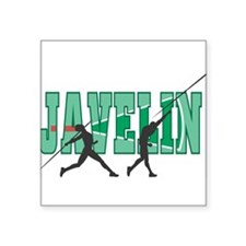 "32543250javelin.png Square Sticker 3"" x 3"""