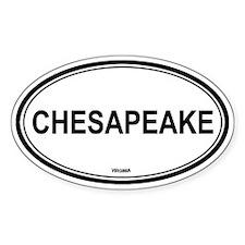 Chesapeake (Virginia) Oval Decal