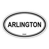 Arlington (Virginia) Oval Decal