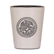 Mexican Eagle Shot Glass