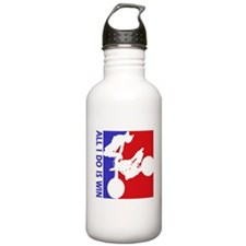 All I do is win Dirt Bike riding designs Water Bottle