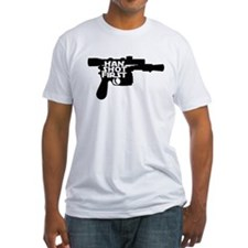 Han Shot First Gun Shirt