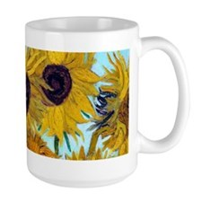 Van Gogh - Sunflowers Ceramic Mugs