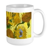Van Gogh - 15 Sunflowers Ceramic Mugs
