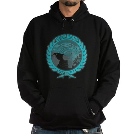 Music Radar Drop Beats Not Bombs Hoodie (dark)
