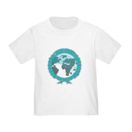 Music Radar Drop Beats Not Bombs Toddler T-Shirt