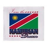 I am the Namibian Dream Throw Blanket