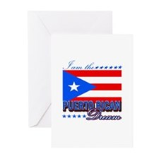 I am the Puerto Rican Dream Greeting Cards (Pk of