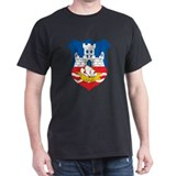 Belgrade Coat Of Arms Black T-Shirt