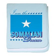 I am the Somalian Dream baby blanket