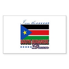 I am the South Sudanese Dream Decal
