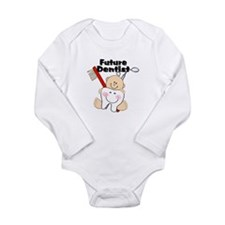 Cute Cute tooth Long Sleeve Infant Bodysuit