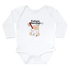Unique Cute tooth Long Sleeve Infant Bodysuit