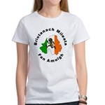 British Military Keep Out in Women's T-Shirt