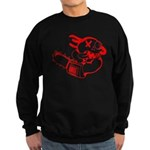 Agnew-chainsaw RED.PNG Sweatshirt (dark)