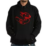 Agnew-chainsaw RED.PNG Hoodie (dark)