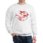 Agnew-chainsaw RED.PNG Sweatshirt