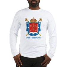 Saint Petersburg COA.png Long Sleeve T-Shirt