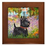 Garden (Monet) - Scotty Framed Tile
