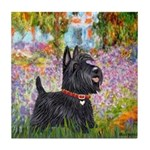 Garden (Monet) - Scotty Tile Coaster