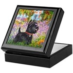 Garden (Monet) - Scotty Keepsake Box