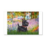 Garden (Monet) - Scotty Car Magnet 20 x 12