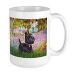 Garden (Monet) - Scotty Large Mug