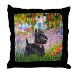 Garden (Monet) - Scotty Throw Pillow