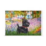 Garden (Monet) - Scotty Mini Poster Print