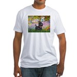 Garden (Monet) - Scotty Fitted T-Shirt