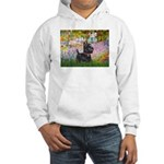 Garden (Monet) - Scotty Hooded Sweatshirt