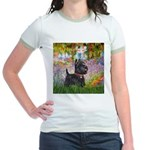 Garden (Monet) - Scotty Jr. Ringer T-Shirt