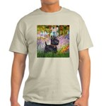 Garden (Monet) - Scotty Light T-Shirt
