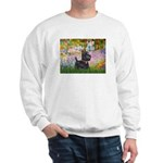 Garden (Monet) - Scotty Sweatshirt