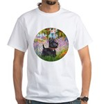 Garden (Monet) - Scotty White T-Shirt
