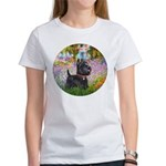 Garden (Monet) - Scotty Women's T-Shirt