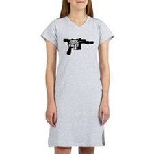 Han Shot First Women's Nightshirt