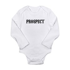 Cute Prospecting Long Sleeve Infant Bodysuit