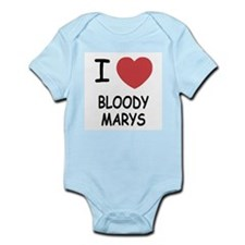 I heart bloody marys Infant Bodysuit