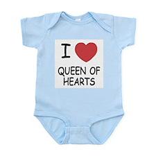 I heart queen of hearts Infant Bodysuit