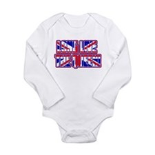Cute Jack diamonds Long Sleeve Infant Bodysuit