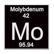 Periodic Table Molybdenum Tile Coaster